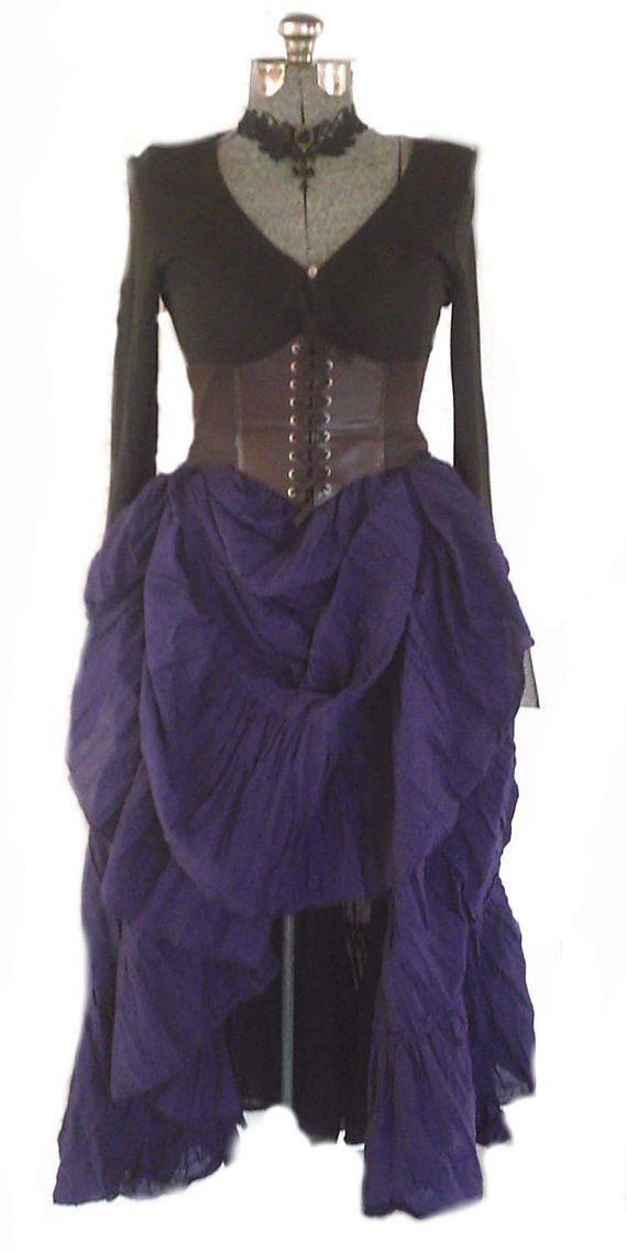 b2f1ca46d90 Reniassance Brown Underbust corset Waist cincher Steampunk Costume Medieval  Pirate Wench S-L 8 Color