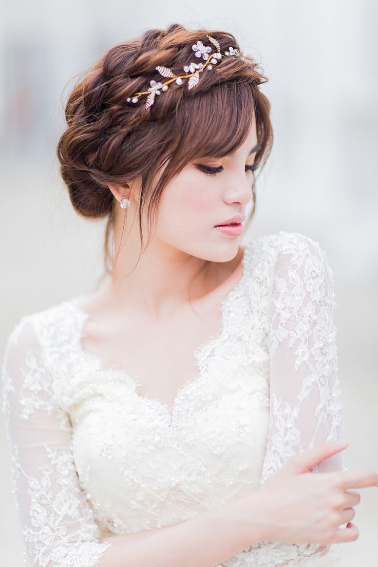 Image result for draped veil with braided updo | Wedding Ideas ...