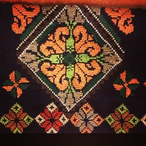 تطريز يدوي | تطريز يدوي | Pinterest | Palestinian embroidery ...