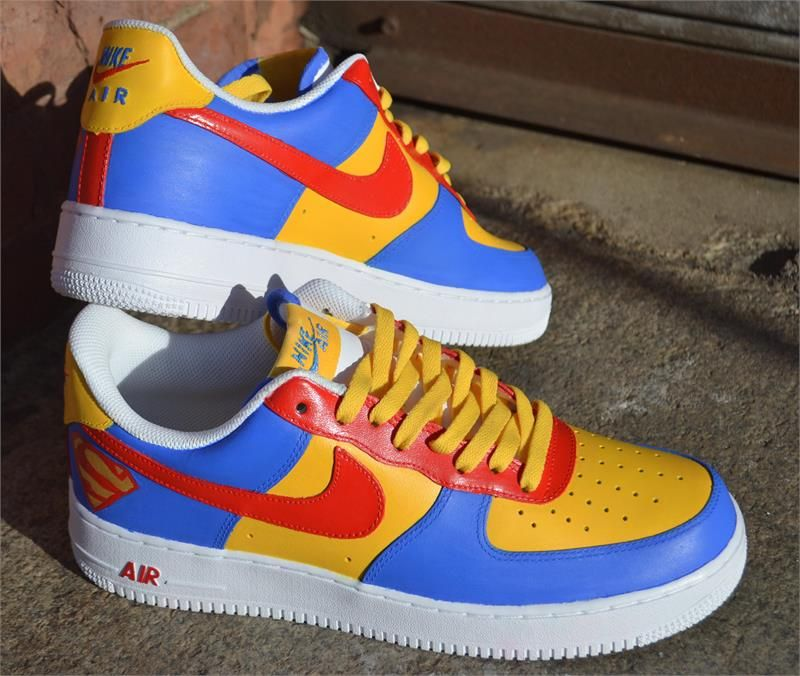 Supreme High Nike Air Force 1 Low Custom Men by NYCustoms on Etsy | shit |  Pinterest | Nike air force, Air force and Supreme
