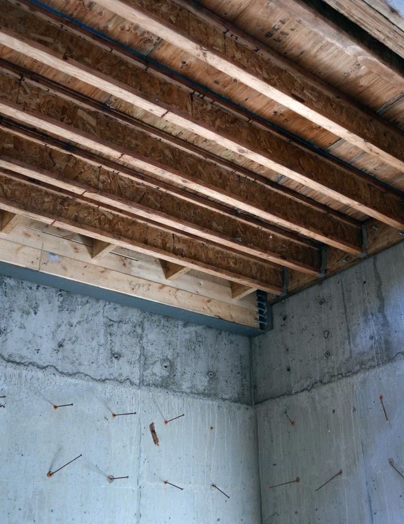 WOOD-JOIST-FLOOR-FRAMING-CONNECTED-ATTACHED-TO-CONCRETE-WALL ...
