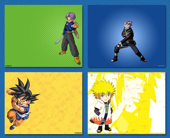 Powerpoint Templates Background Anime Powerpoint Templates