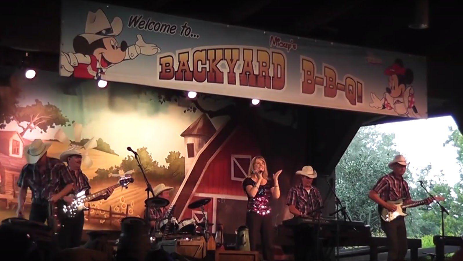 Mickey Backyard Bbq mickey's backyard bbq at fort wilderness in disney world | disney