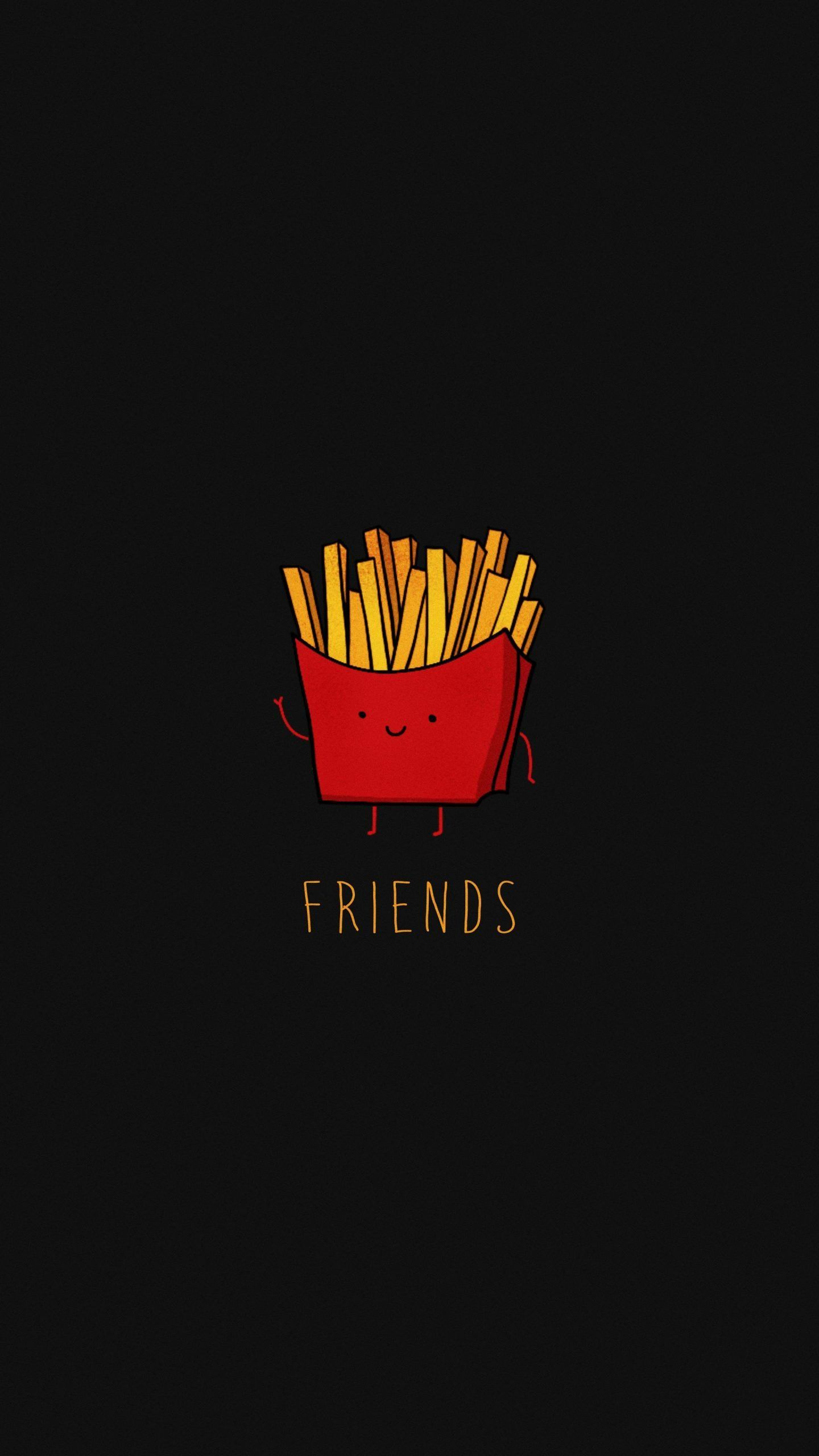 French Fries 4k Wallpaper 2160x3840 Iphone Wallpaper Images Dark Phone Wallpapers Funny Iphone Wallpaper