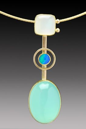 Yumi Ueno Art Jewelry & Metal : Jewelry Gallery : Pendant