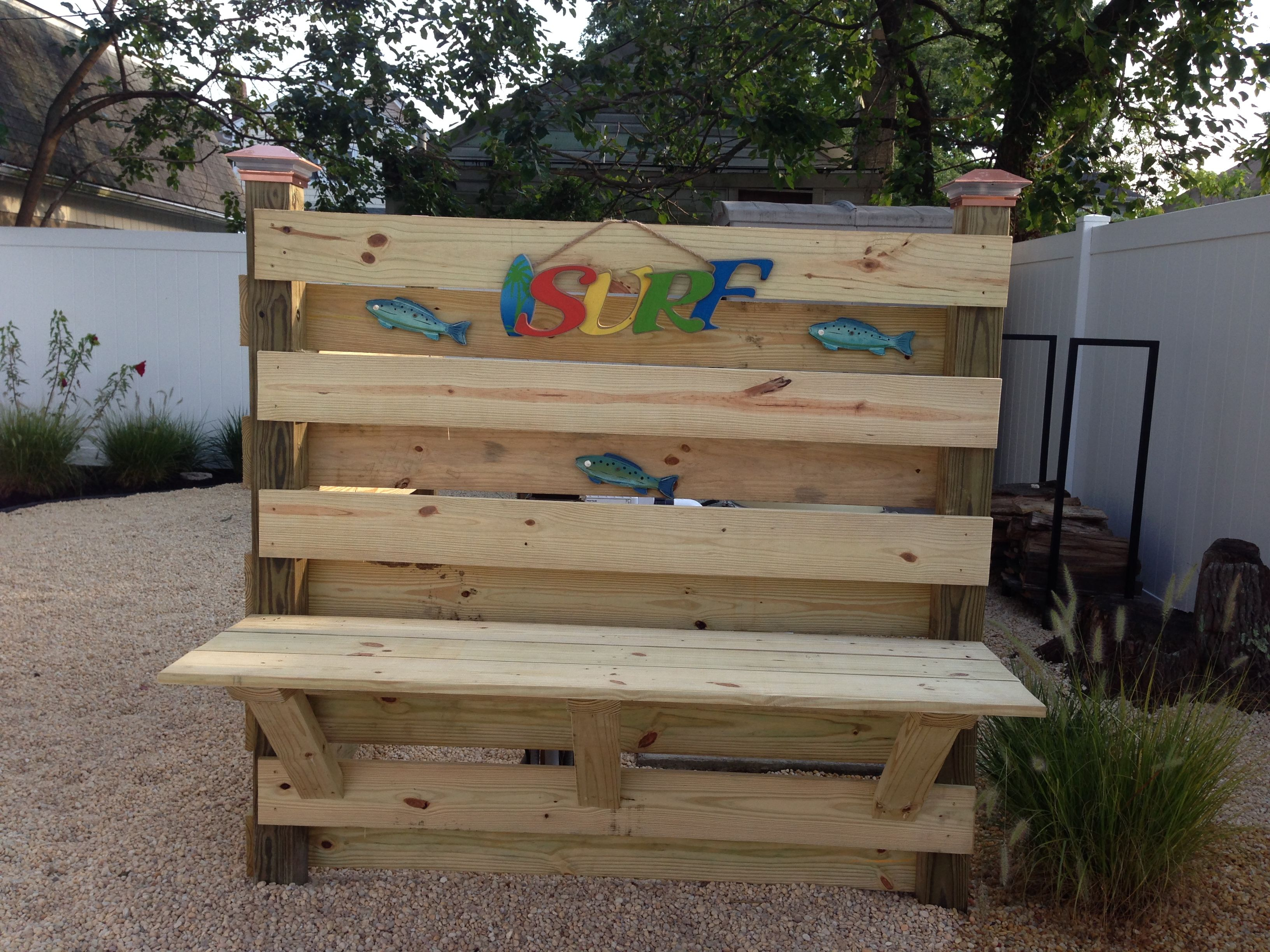 bench to hide pool equipment | pool landscaping in 2018 | pinterest