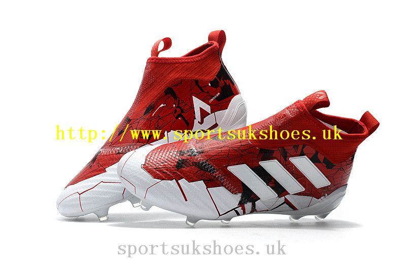 new concept 52157 c4d97 Adidas ACE 17+ Purecontrol Confed Cup FG Football Boots - WhiteSolar Red  For
