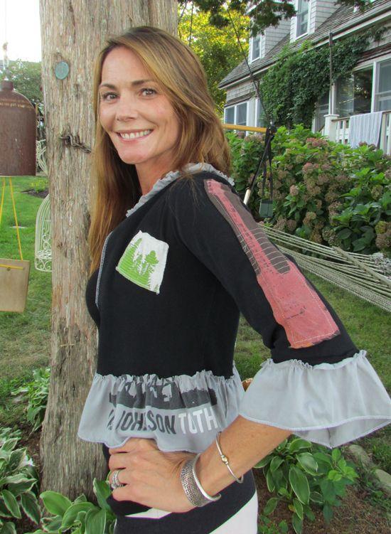 upcycled t shirt ideas | Upcycled t-shirt contest ~ a boho style shrug