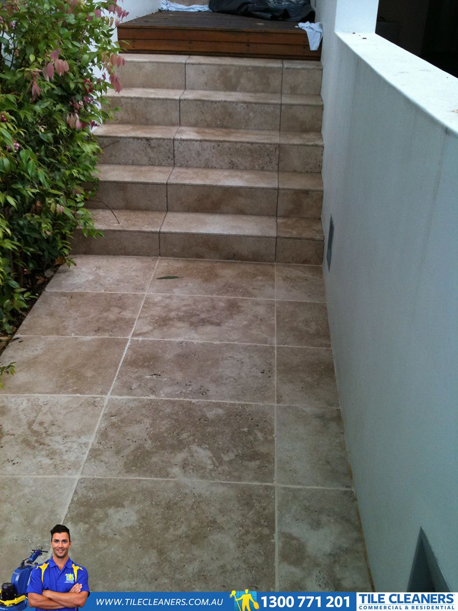 Dirty outdoor Travertine We are your specialist service