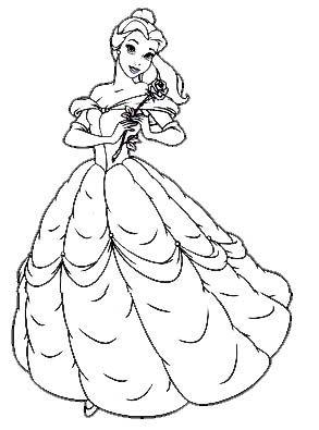 Dibujos Para Pintar De Princesas Buscar Con Google Com Imagens