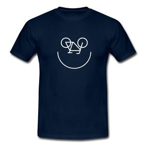 Bike Smiley Camisetas - Camiseta hombre