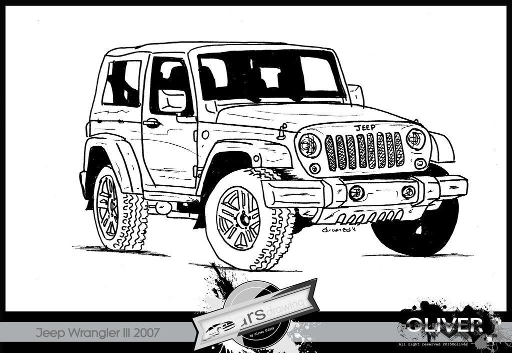 Image result for jeep sketch | jeep | Pinterest | Jeeps
