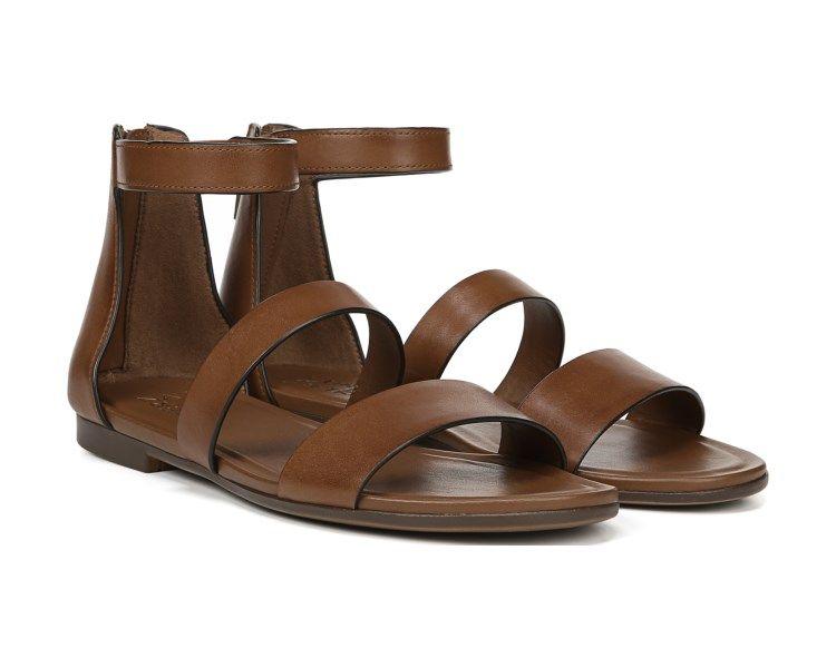aa9e396f854e Naturalizer Tish Saddle Tan Leather