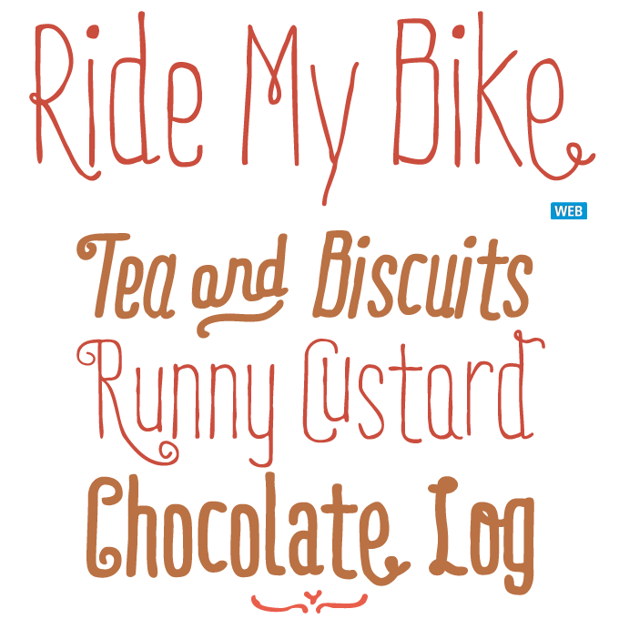 Ride my bike is particularly lively playful and irregular it is a playful and irregular it is a typeface with a sassy streetwise attitude and a mischievous smile fonts type altavistaventures Gallery