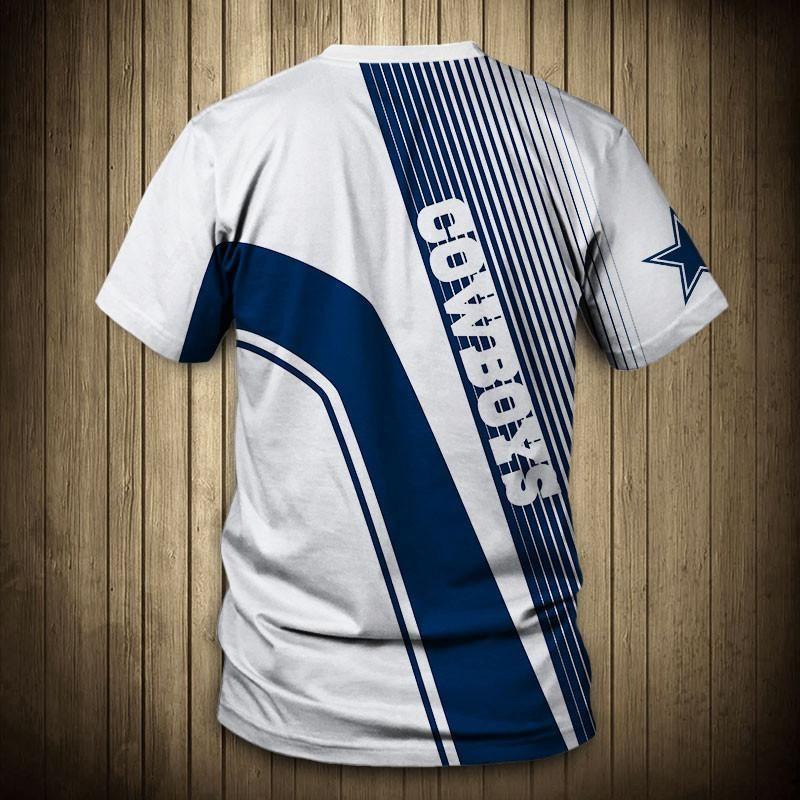 NFL T shirt For Sale 3D Custom Dallas Cowboys T shirts Cheap For ...
