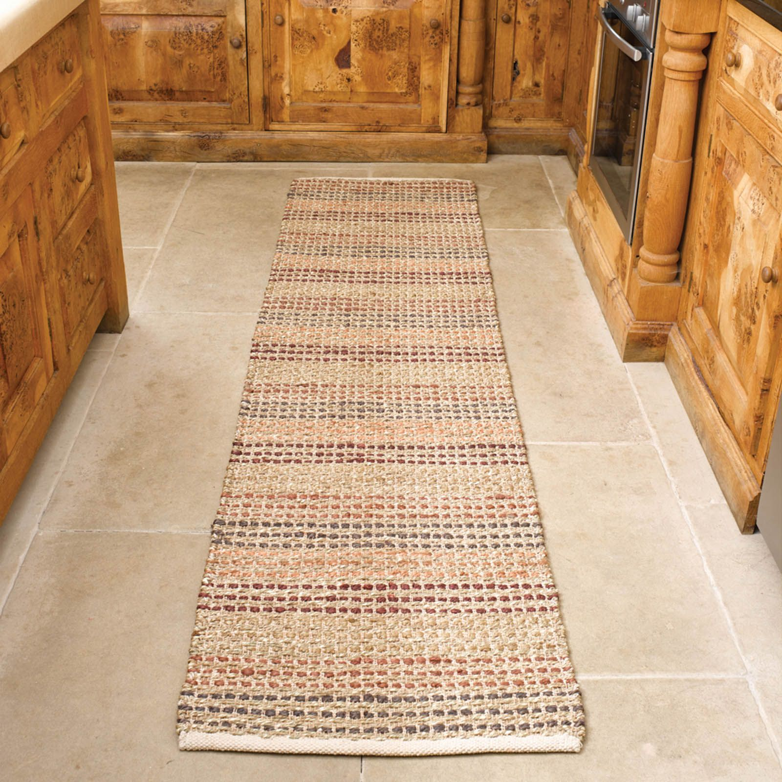 Natural Living Seagr Hallway Runners In Terracotta Online From The Rug Er Uk