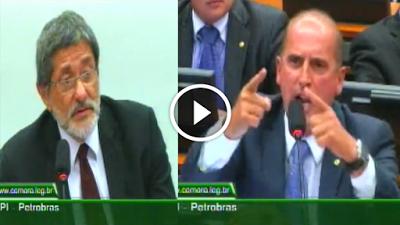 Correio do Poder: Deputado se irrita e humilha petista ex-presidente da Petrobras; veja vídeo