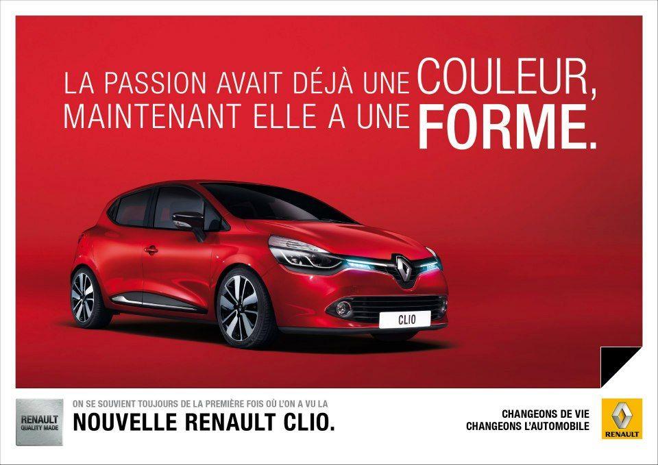 Nouvelle Renault Clio IV, Inoubliable.  #Renault