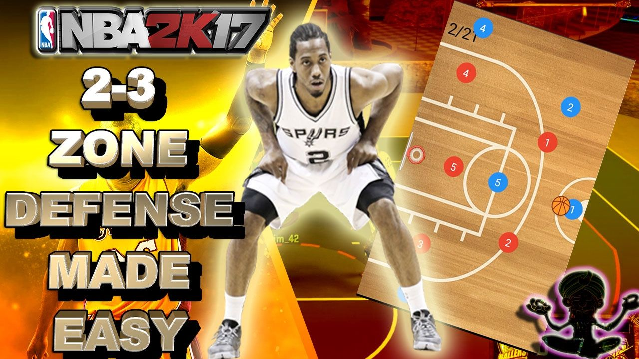 How To Play 2 3 Zone Deffense Best Zone Defense In Nba 2k17