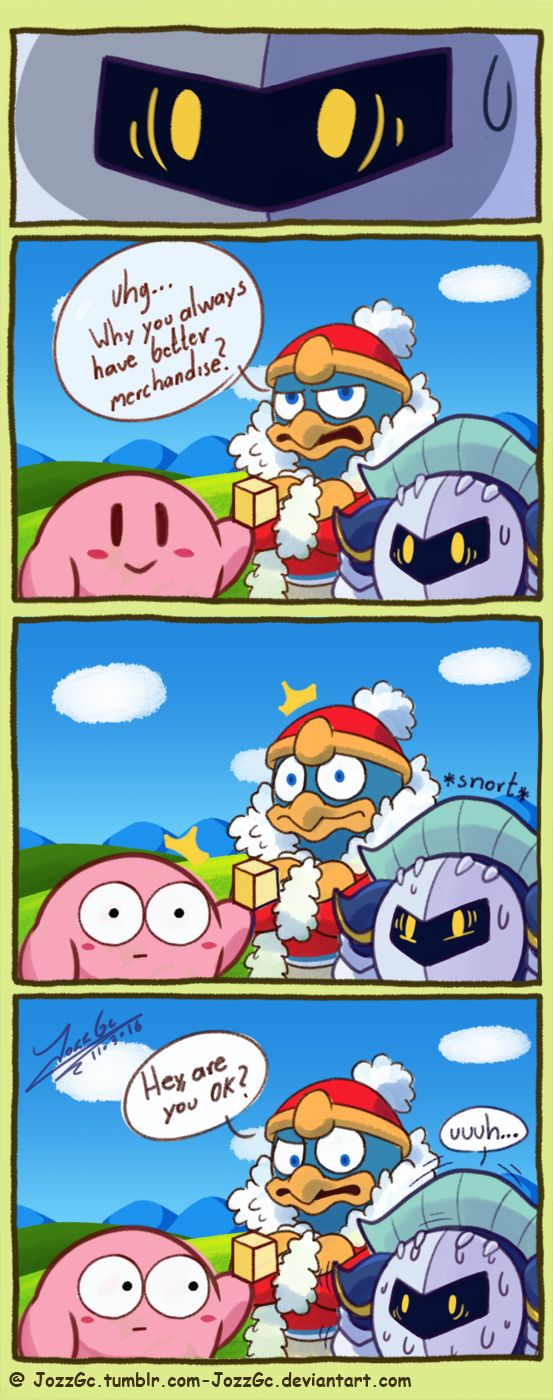 Meta Knight Are You Ok With Images Kirby Memes Kirby