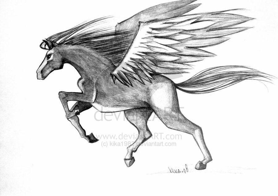 Deviant art horse