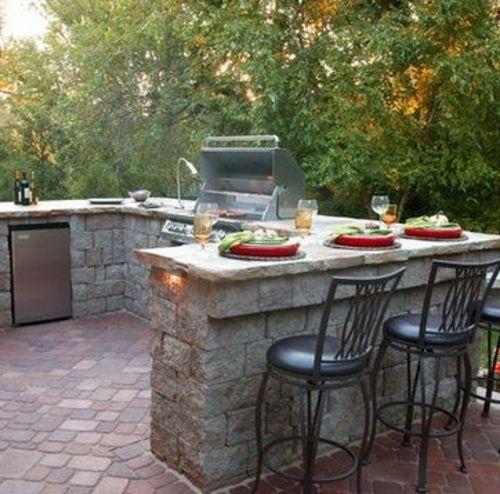 Outdoor Küche mit Grill | Outdoor küche, Grill und Geplant
