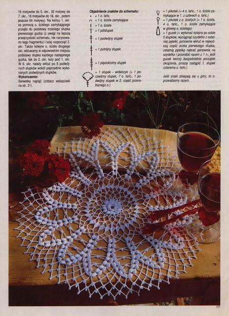 Scheme crochet no. 864 | Kira scheme crochet