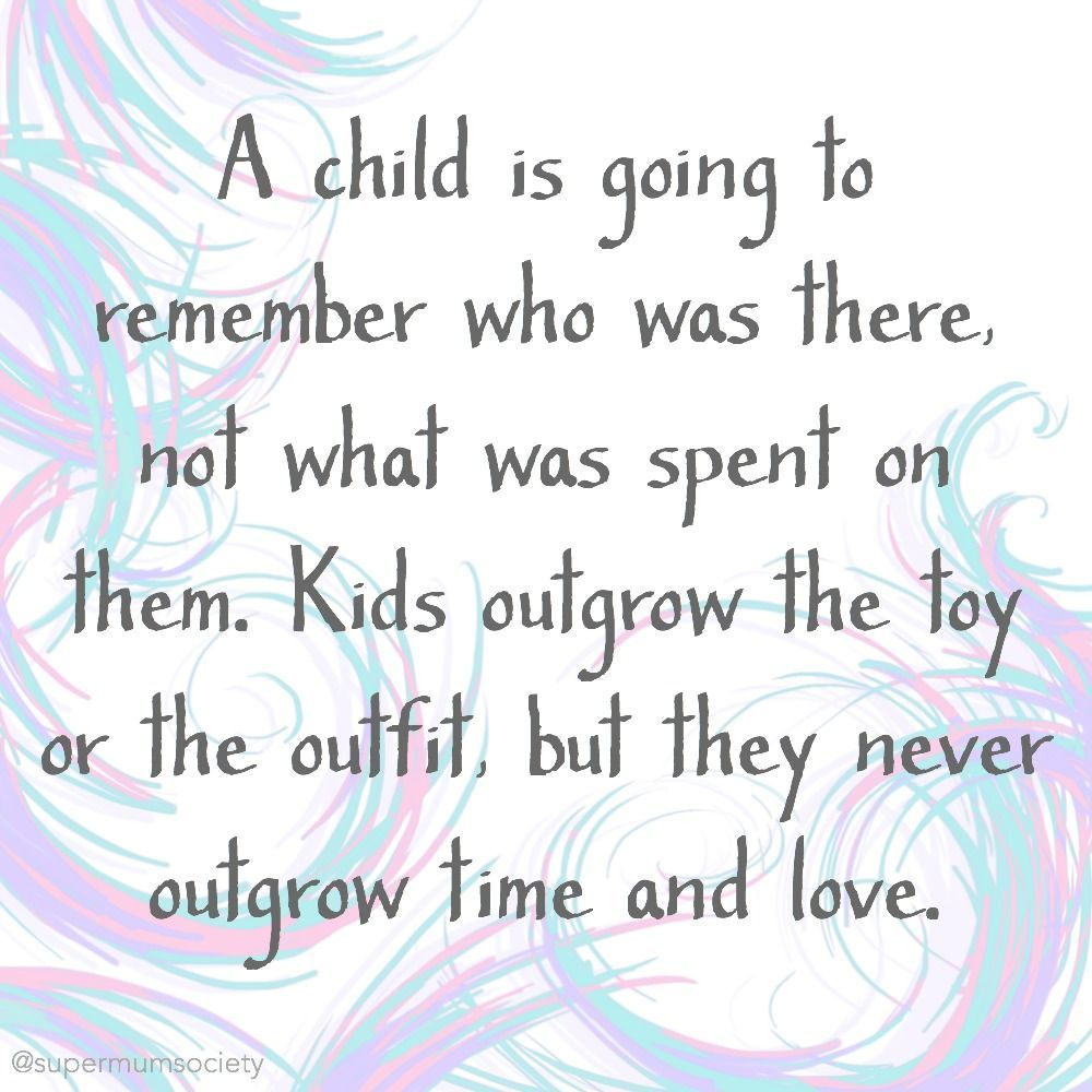 As Parents We All Want To Give Our Kids Everything And See Them Happy However This Doesn T Have To Be The Latest T Quotes For Kids Growing Quotes Habit Quotes