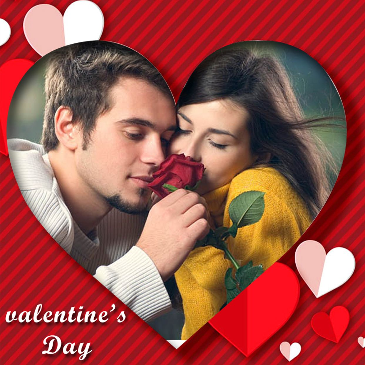 valentines day special frames app love valentines day photo frames free download on the - Heart Frame App