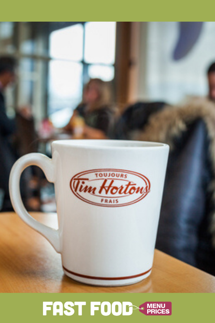 Tim Hortons Prices (With images) Tim hortons, Tim