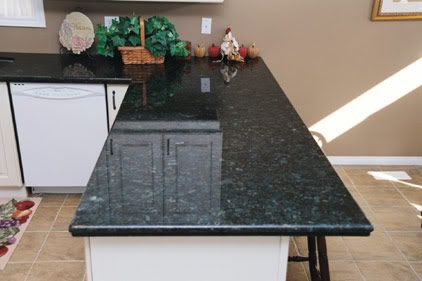 Emerald Pearl Granite Considering This For The Kitchen With Gray Cabinets.