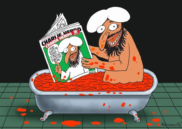Marian Kemensky Slovakia Charlie Hebdo English Charlie - 24 powerful cartoon responses charlie hebdo shooting