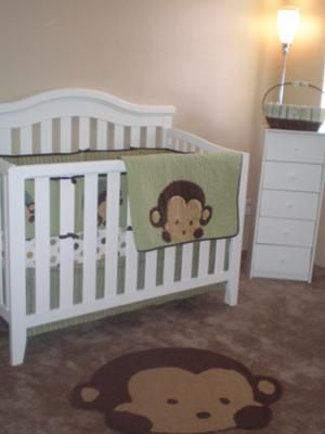 Our Baby Boy S Silly Monkey Nursery Theme Pictures