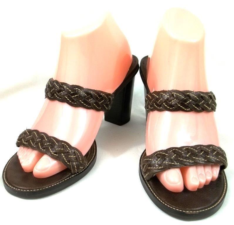 Lauren Ralph Lauren Shoes Sz 7B Open Toe Pumps Heels