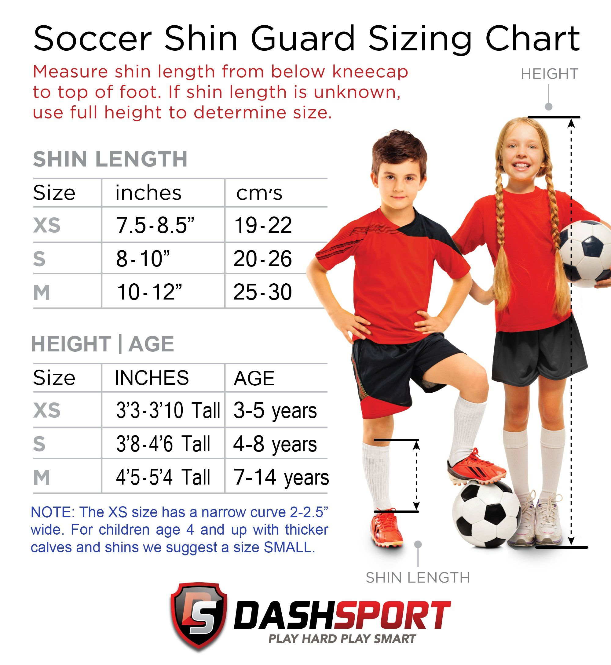 Soccer Shin Guards Youth Sizes By Dashsport Best Kids Soccer Equipment With Ankle Sleeves Great For Boys And Girl Soccer Shin Guards Kids Soccer Shin Guards