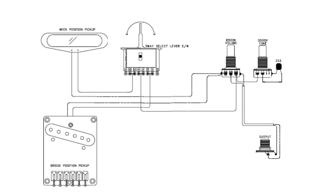 Import (cheap) switch wiring diagram help | Telecaster