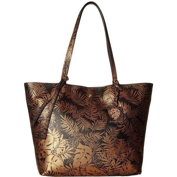 Tommy Bahama Cocoa Beach Market Tote (Bronze) Tote Handbags ( 140) ❤ liked da28c2759210d