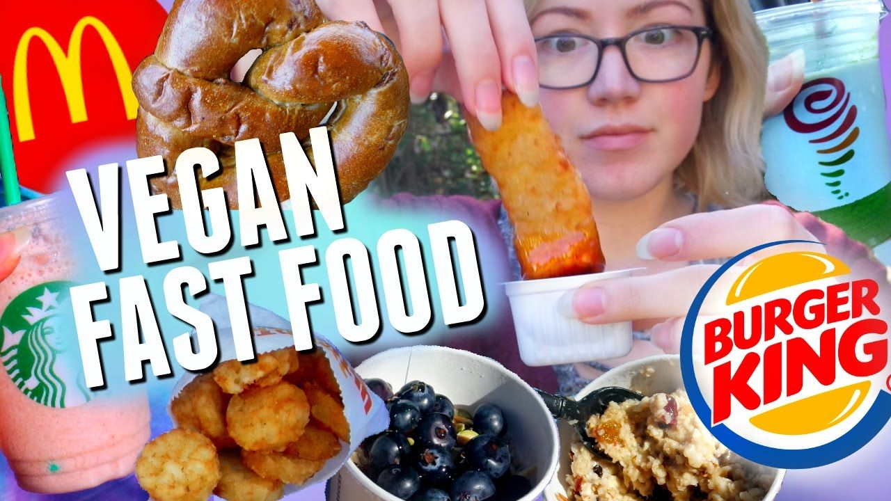 Here S Some Vegan Options At Common Fast Food Restaurants In America Including Starbucks Jamb Vegan Fast Food Vegan Fast Food Options Vegan Restaurant Options