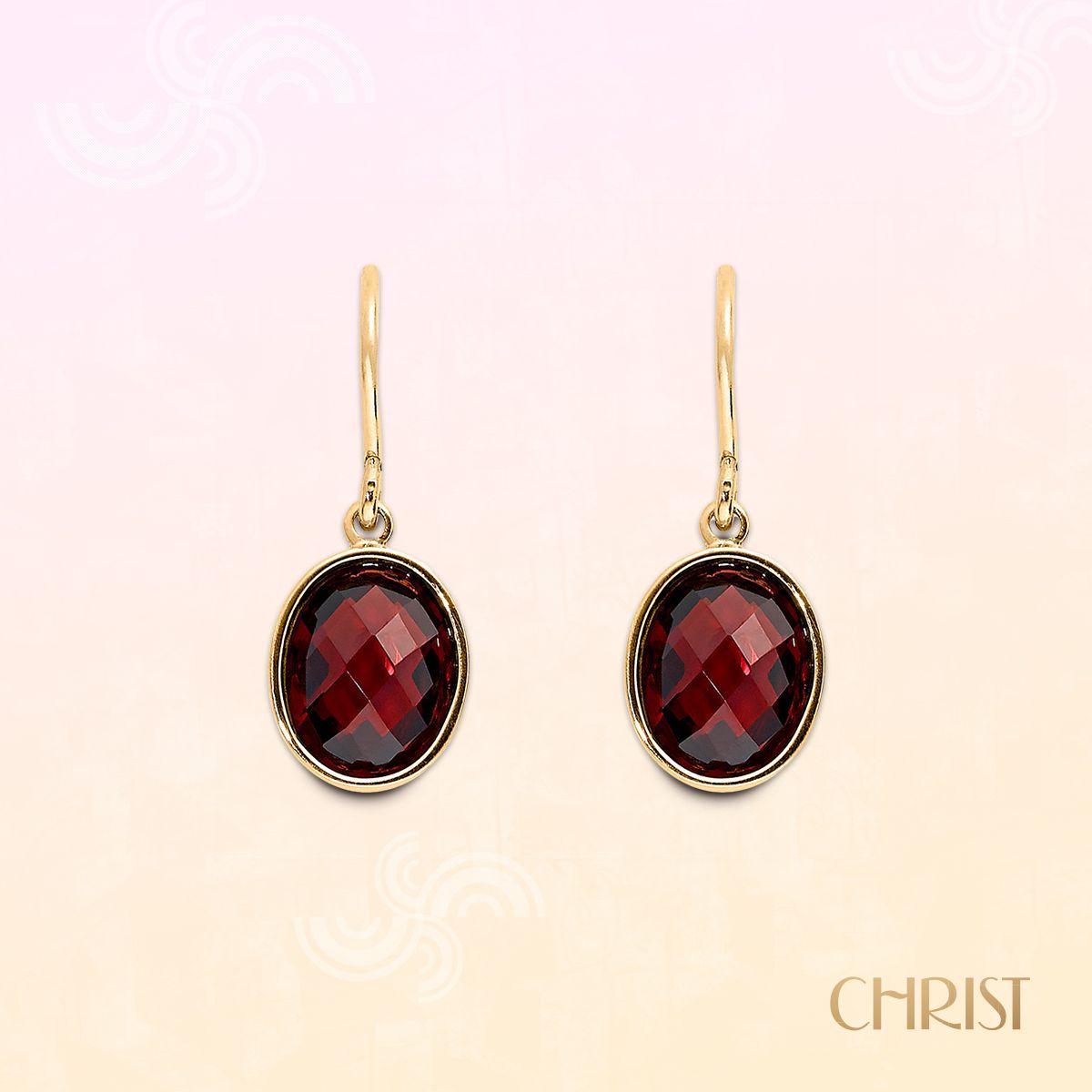 Ohrhänger in Marsala-Rot! Die perfekten Begleiter für die Herbsttage!