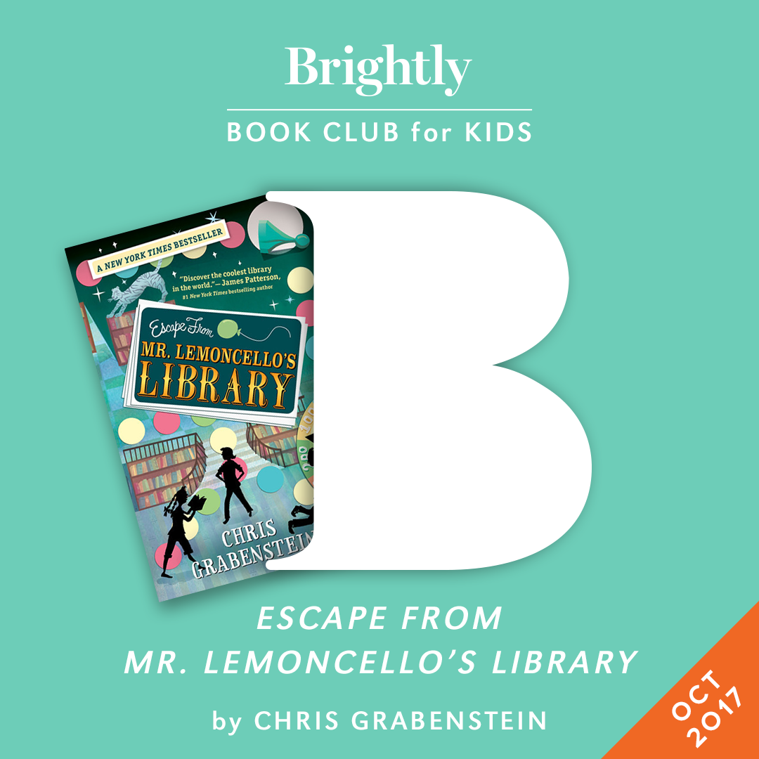 Book Club For Kids Escape From Mr Lemoncello S Library