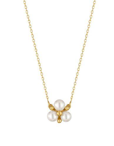Majorica 6MM Pearl Pendant Necklace Women's White