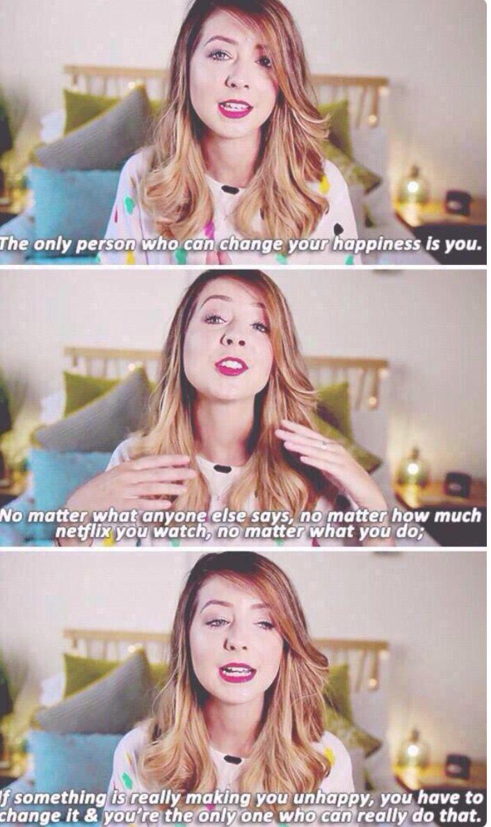 Zoe explain ur self  Zoella quotes, Youtube quotes, Zoella