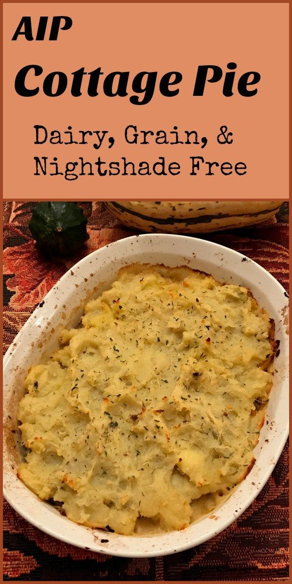 Cottage Pie (AIP, Paleo) - Gutsy By Nature