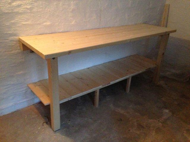 meine werkbank bauanleitung zum selber bauen heimwerker forum werkstatt pinterest werkbank. Black Bedroom Furniture Sets. Home Design Ideas