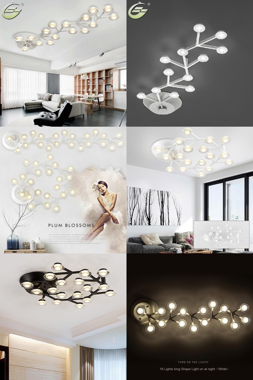 Visit to buy black white led dome lights plum blossom lamp sitting visit to buy black white led dome lights plum blossom lamp sitting room dining arubaitofo Images