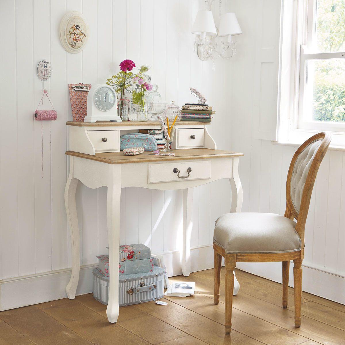Scrivania secrétaire color crema | Idee per decorare la ...