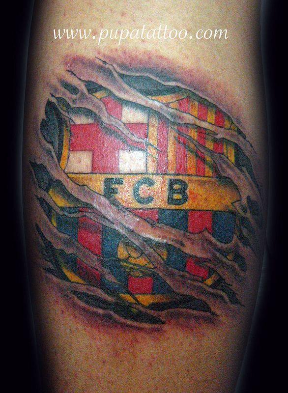 tatuaje escudo barcelona pupa tattoo granada barcelona tattoo football tattoo tattoos tatuaje escudo barcelona pupa tattoo