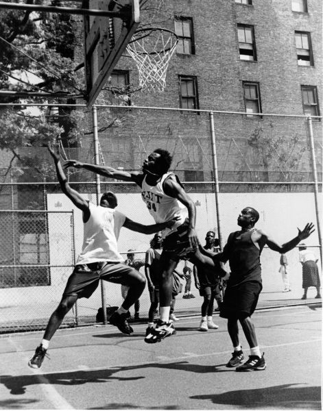 West 4th Street Courts Highlights Golden Swan Garden Nyc Parks Street Basketball Basketball Park Basketball