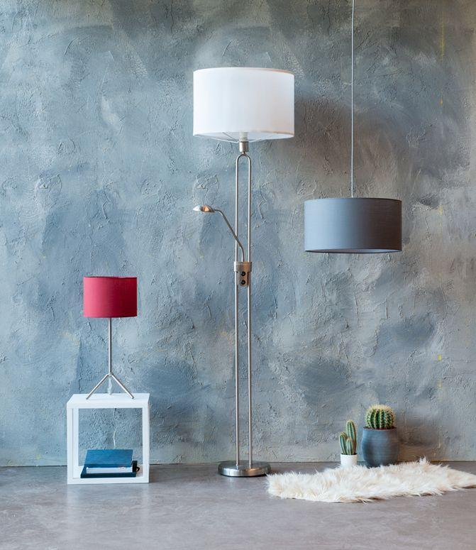 Praxis | Deze lampen kun je mixen en matchen. Je kunt de lampenkap en het armatuur combineren tot een samenstelling die helemaal bij jou en jouw huis past!