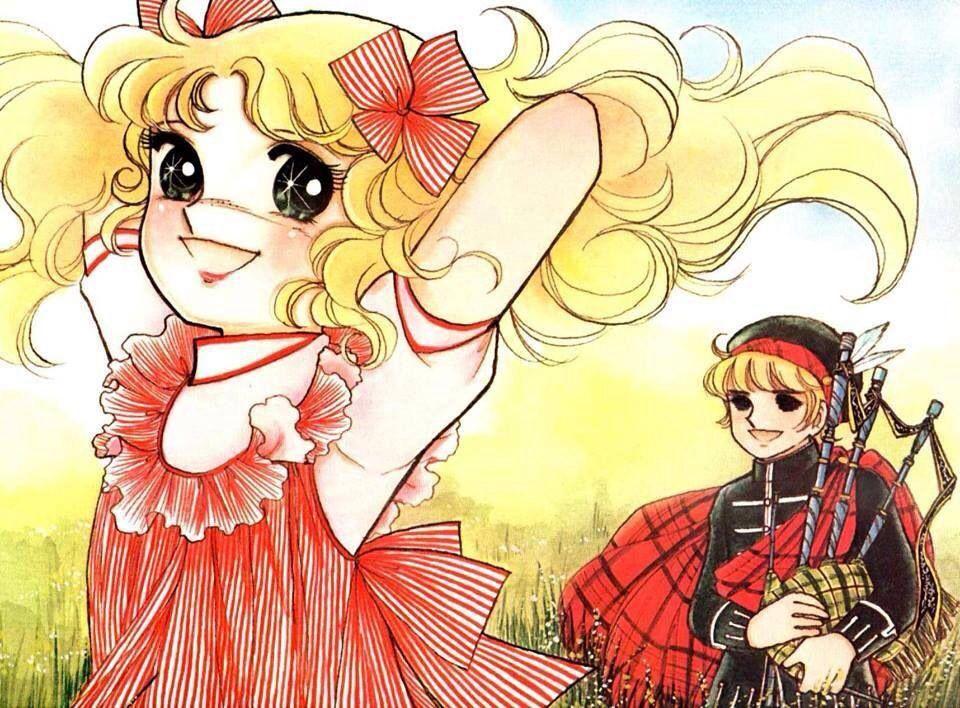 Candy, Candy 漫画の背景、昭和 漫画、絵手紙